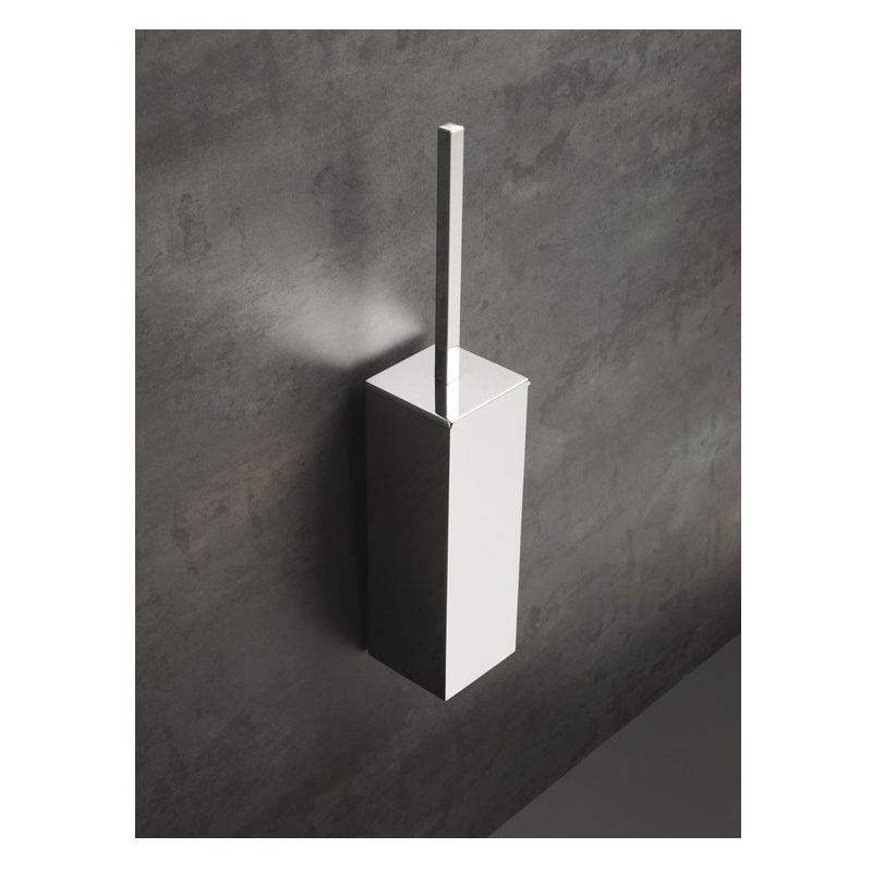 Bathrooms To Love Lissi Wall Mounted Toilet Brush Holder Chrome