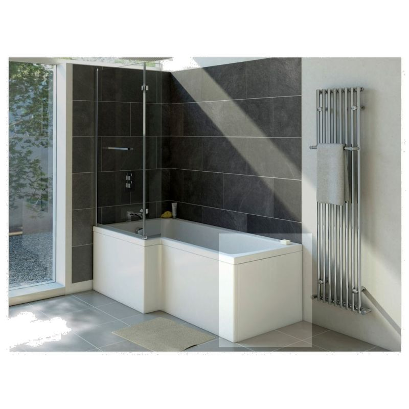 Bathrooms To Love Solarna 750mm Shower Bath End Panel