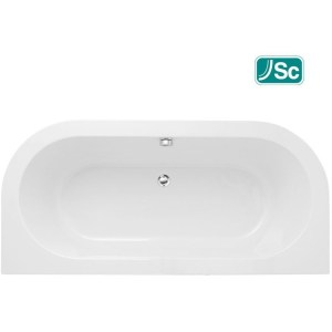 Bathrooms To Love Decadence Supercast Back To Wall 1700x800mm Bath