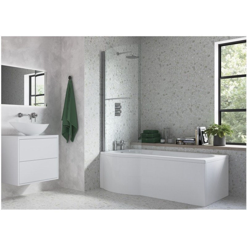 Bathrooms To Love P Shape Bath Screen