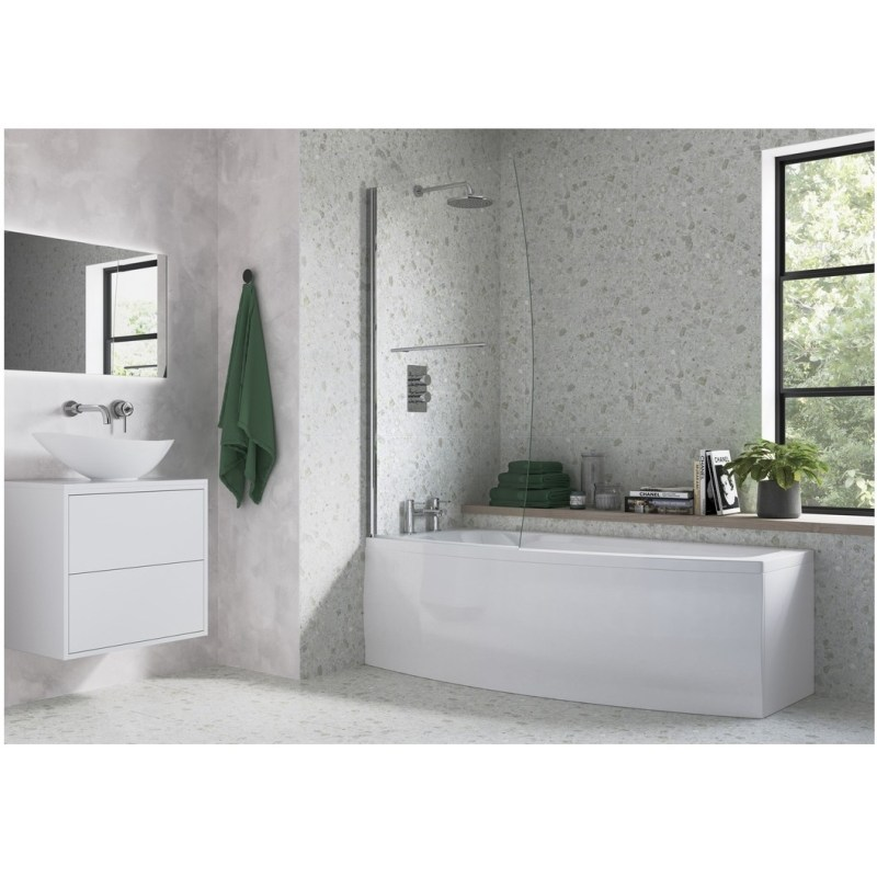 Bathrooms To Love Space Saver 1700x695mm Bath Pack Right