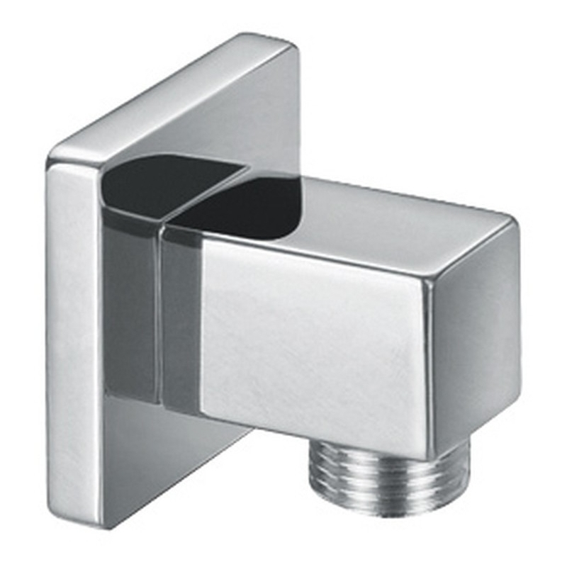 Bathrooms To Love Square Wall Outlet Elbow