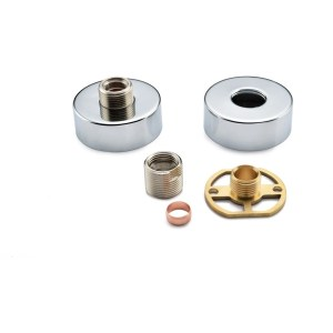 Bathrooms To Love Round Shower Valve Fast Fitting Kit (Pair)
