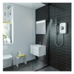 Triton Amore Electric Shower 9.5kW White Gloss