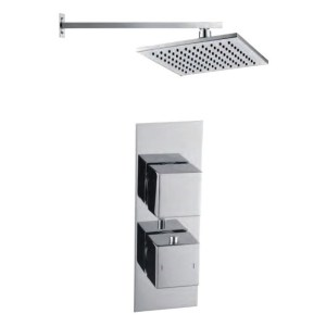 Bathrooms To Love Rhomba Square Shower Pack 9