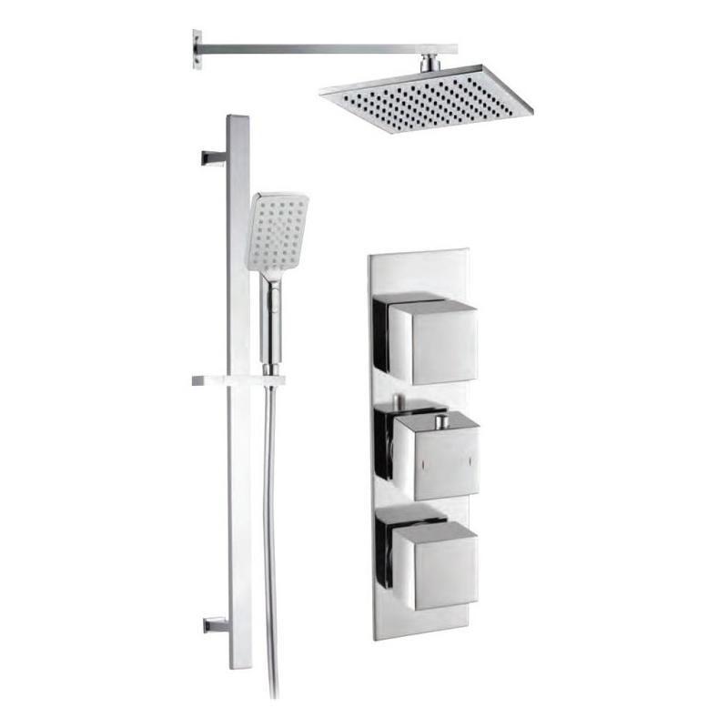 Bathrooms To Love Square Rhomba Shower Pack 10