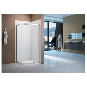 Merlyn Vivid Boost 1000mm 1 Door Quadrant Enclosure