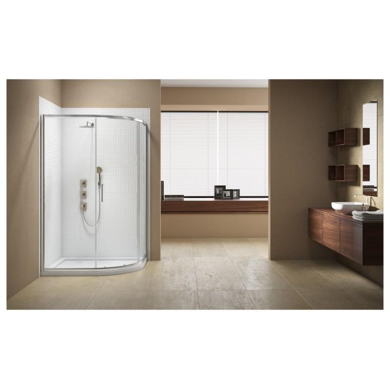 Merlyn Vivid Sublime 1200x900mm 1 Door Offset Quadrant Enclosure