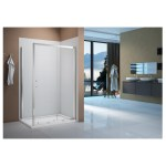 Merlyn Vivid Boost 1600mm Sliding Shower Door