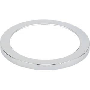 Bathrooms To Love Nuva Large Round Magnetic Light Cover Chrome