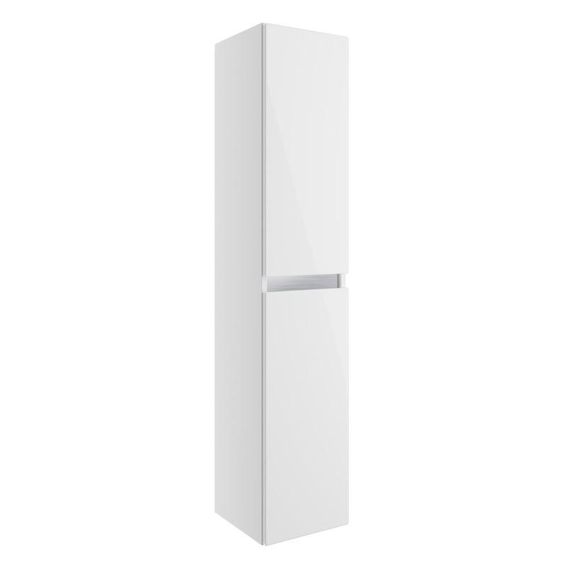 Bathrooms To Love Carino 300mm 2 Door Tall Unit White Gloss