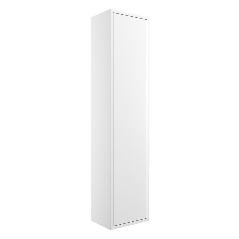 Bathrooms To Love Perla 300mm 1 Door Tall Unit Matt White