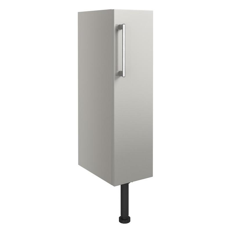 Bathrooms To Love Alba 200mm Toilet Roll Holder Unit Light Grey Gloss