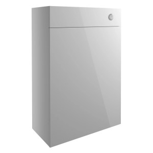Bathrooms To Love Alba 600mm WC Unit Light Grey Gloss