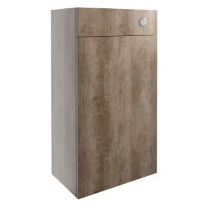 Bathrooms To Love Alba 500mm WC Unit Grey Nebraska Oak