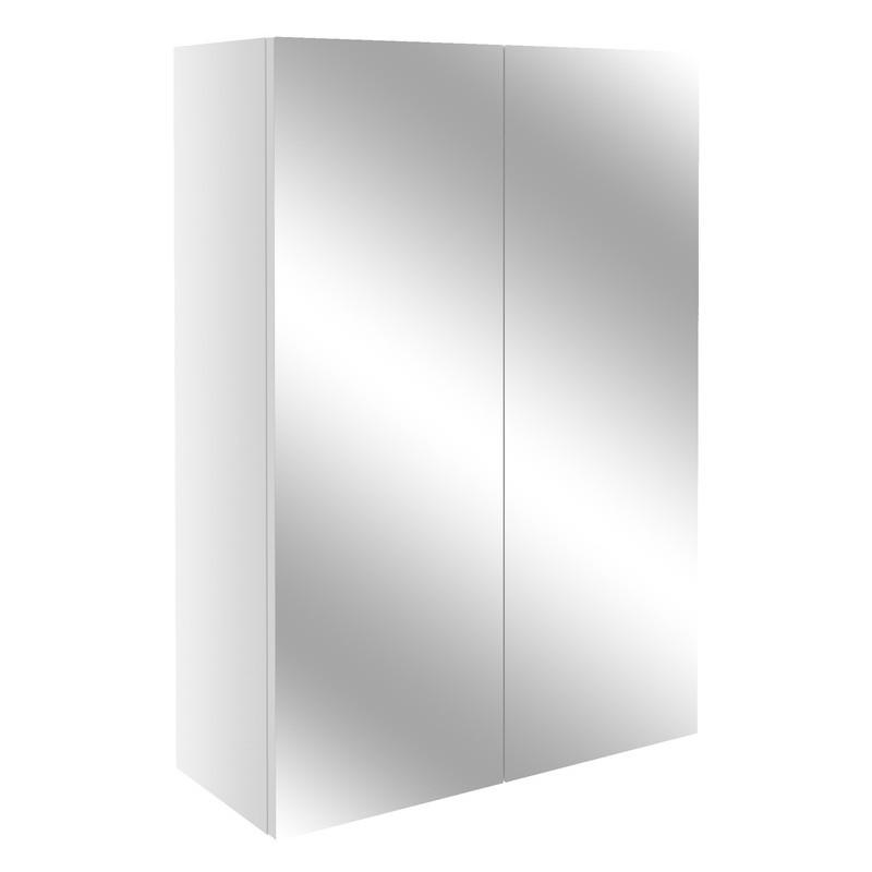 Bathrooms To Love Alba 500mm Mirrored Unit White Gloss