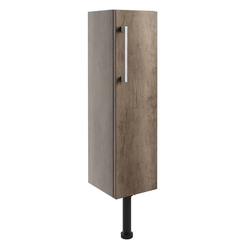 Bathrooms To Love Alba 200mm Slim Base Unit Grey Nebraska Oak