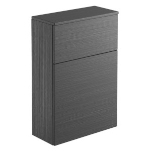 Bathrooms To Love Carino 600mm Floor Standing WC Unit Graphitewood