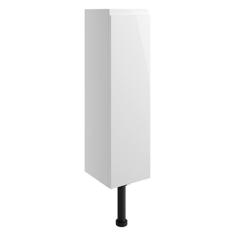 Bathrooms To Love Valesso 200mm Slim Base Unit White Gloss