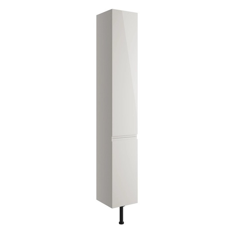 Bathrooms To Love Valesso 300mm Tall Unit Pearl Grey Gloss