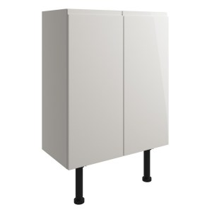 Bathrooms To Love Valesso 600mm Base Unit Pearl Grey Gloss