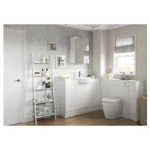 Bathrooms To Love Valesso 900x330mm Base End Panel White