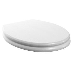 Bathrooms To Love Lucia/Benita Soft Close Toilet Seat Satin White