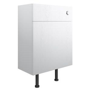Bathrooms To Love Benita 600mm WC Unit Satin White Ash