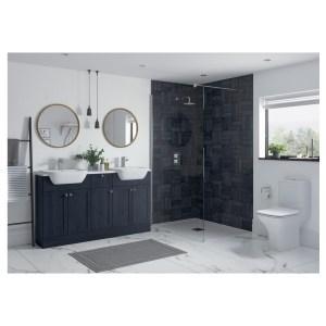 Bathrooms To Love Benita 2400mm Plinth Indigo Ash