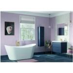 Bathrooms To Love Lambra 300mm 2 Door Tall Unit Matt Indigo