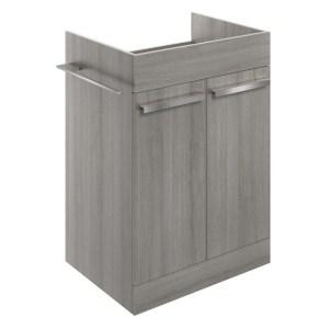 Bathrooms To Love Morina 600mm Floor Vanity Unit Elm Grey
