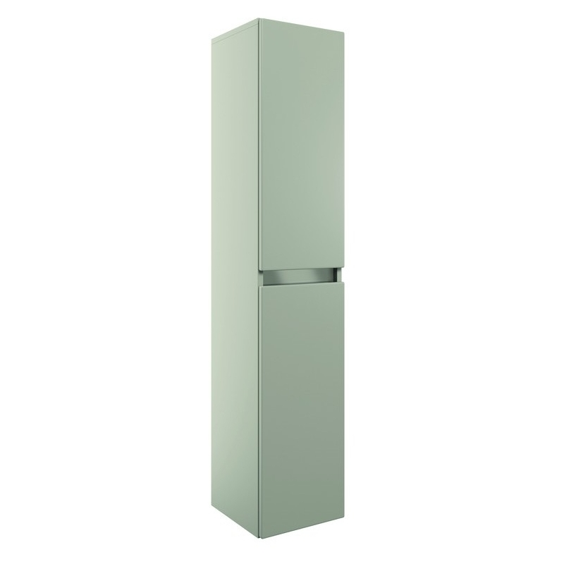 Bathrooms To Love Carino 300mm 2 Door Wall Hung Tall Unit Latte