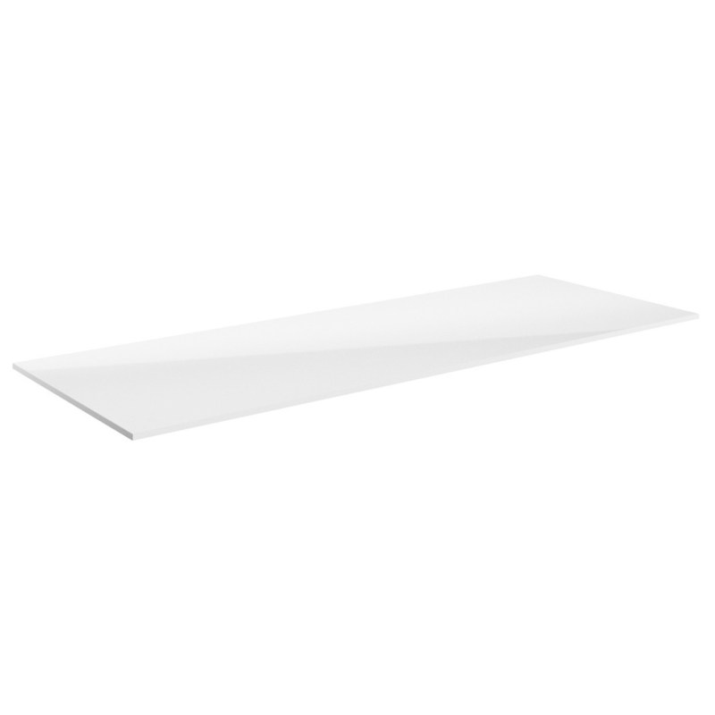 Bathrooms To Love Carino 815mm Laminate Worktop White Gloss