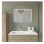 Bathrooms To Love Perla 900mm Wall Vanity Unit & Basin Havana Oak