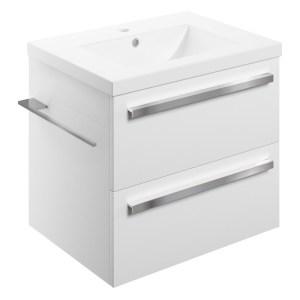 Bathrooms To Love Morina 615mm Wall Unit & Basin White Gloss