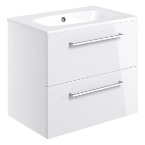 Bathrooms To Love Volta 610mm Wall Hung Unit & Basin White
