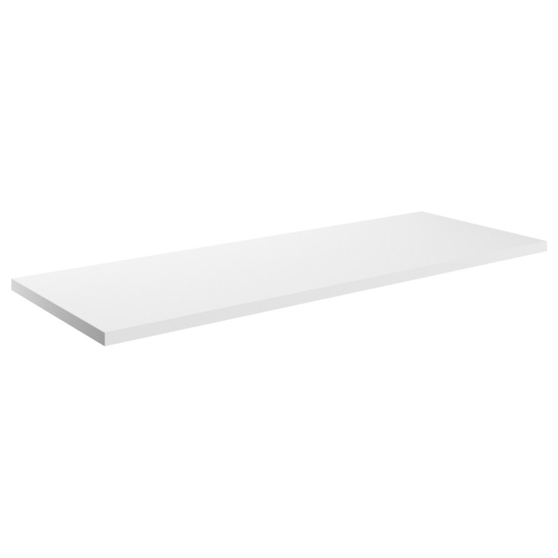 Bathrooms To Love Morina 1200mm Laminate Worktop White Gloss