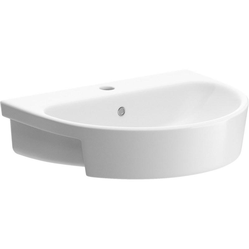 Bathrooms To Love Cilantro 555mm Semi Recessed Basin