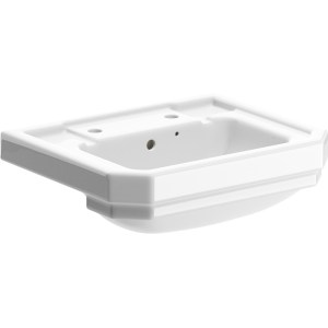 Bathrooms To Love Sherbourne 550mm 2 Taphole Semi Recessed Basin