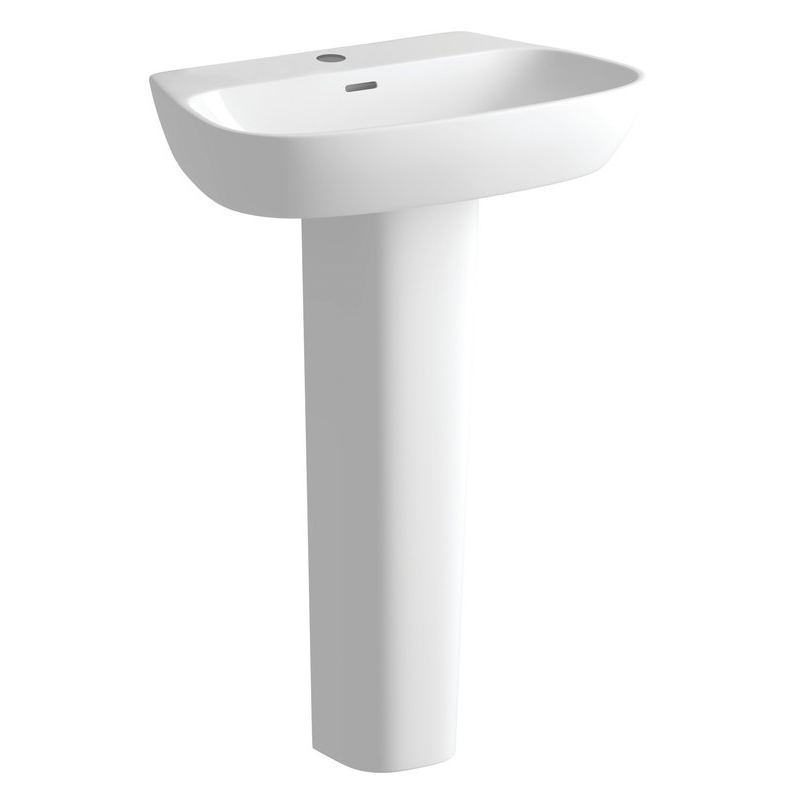 Bathrooms To Love Amyris 600mm Basin & Full Pedestal