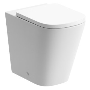 Bathrooms To Love Tilia Rimless Back To Wall WC & Soft Close Seat