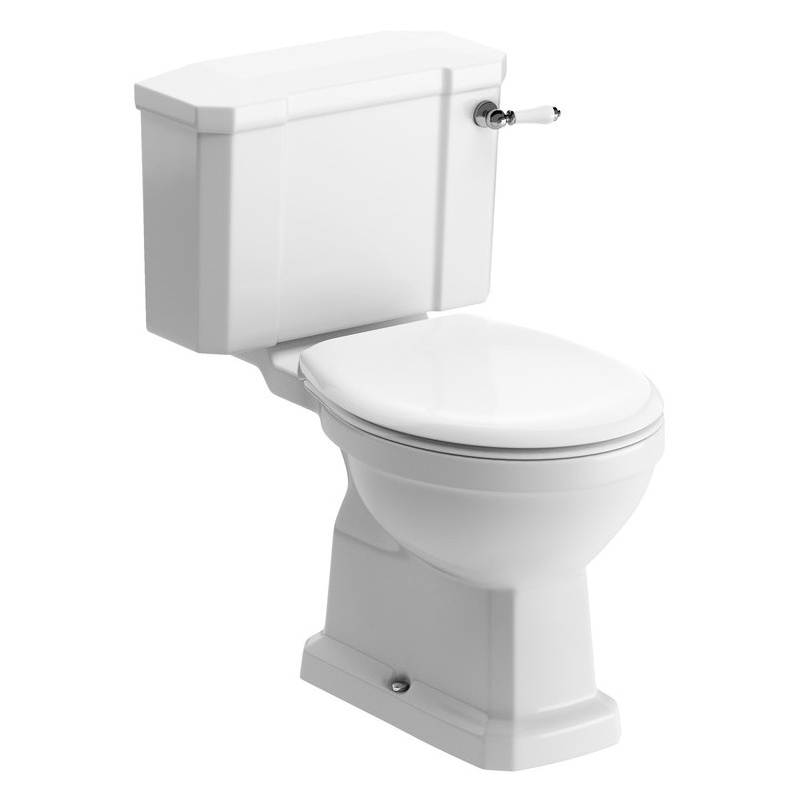 Bathrooms To Love Sherbourne WC & Standard Soft Close Seat