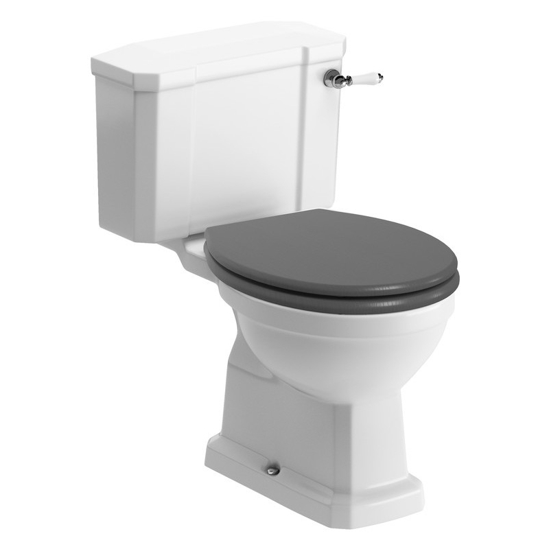 Bathrooms To Love Sherbourne WC & Grey Soft Close Seat
