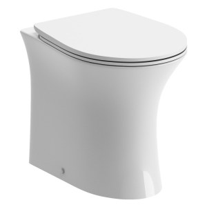 Bathrooms To Love Sandro Rimless Back To Wall WC & Toilet Seat