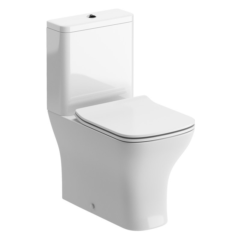 Bathrooms To Love Cedarwood Fully Shrouded WC & Soft Close Seat