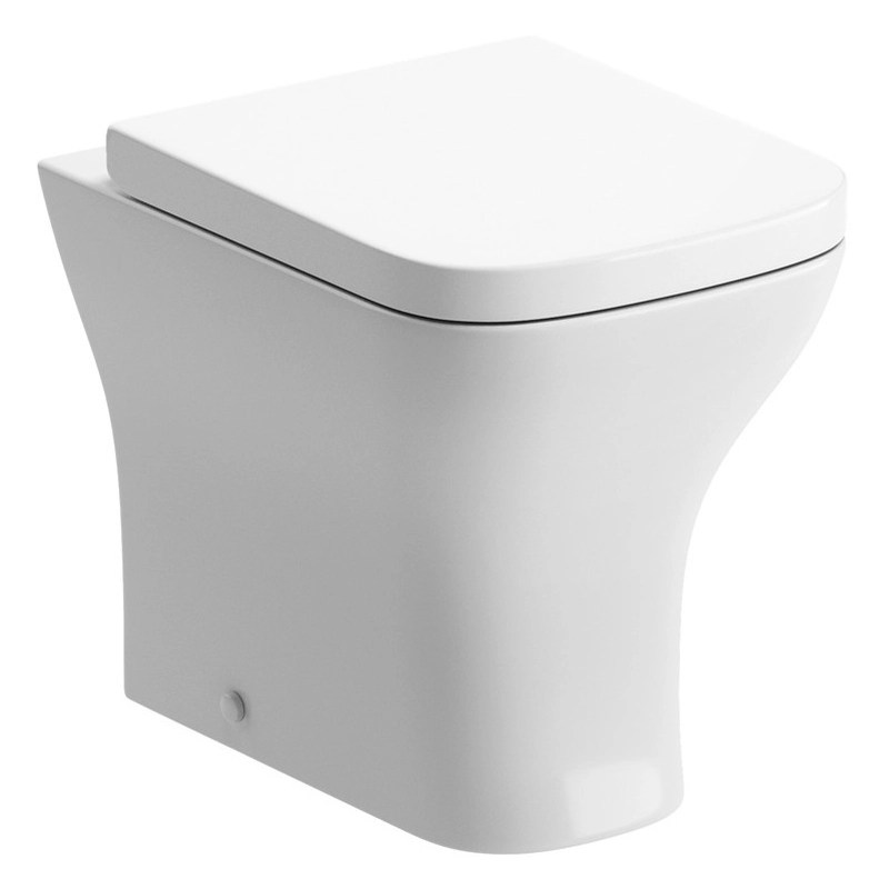 Bathrooms To Love Cedarwood Back To Wall Toilet with Wrapover Seat