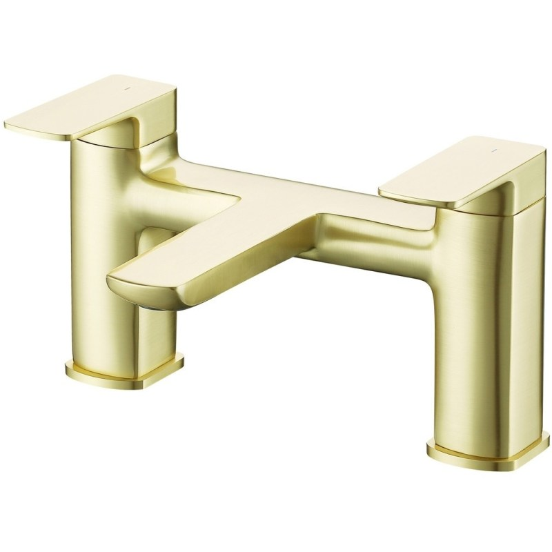 Bathrooms To Love Finissimo Bath Filler Brushed Brass