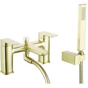 Bathrooms To Love Finissimo Bath Shower Mixer Brushed Brass