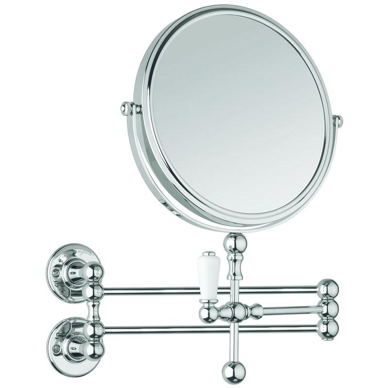 Burlington Cosmetic Wall Mirror Chrome