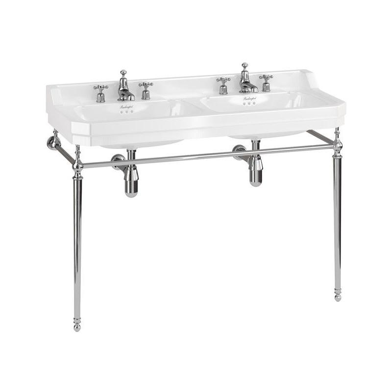 Burlington Edwardian 120cm Double Basin & Washstand